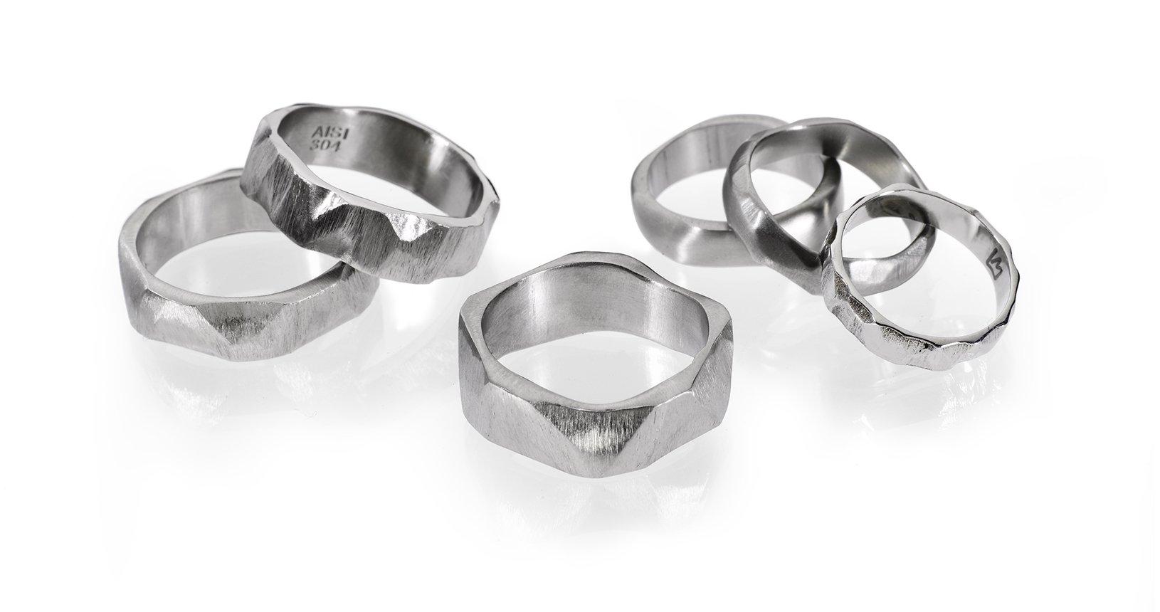 STONE-Anelli-in-titanio-e-acciaio