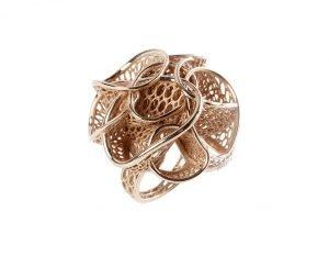 Anemone-anello-stampa 3D-Sisma