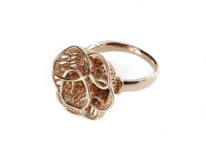 Anemone-anello-stampa-3D-Sisma