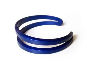 Bracciale Luna-piccolo-anodizzato-azzurro-blu-lat