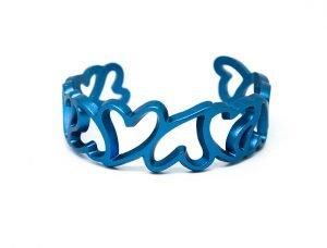 Bracciale--My-Love---azzurro-micropallinato--fronte