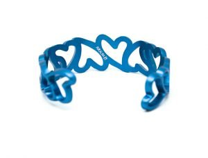 Bracciale--My-Love---azzurro-micropallinato-retro